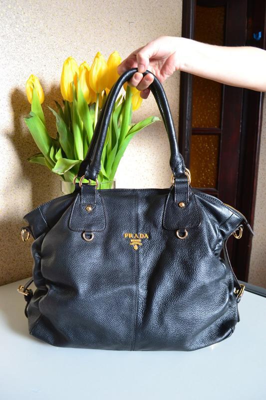 b7db443173c9 Кожаная сумка prada. Prada, цена - 999 грн, #21096789, купить по ...