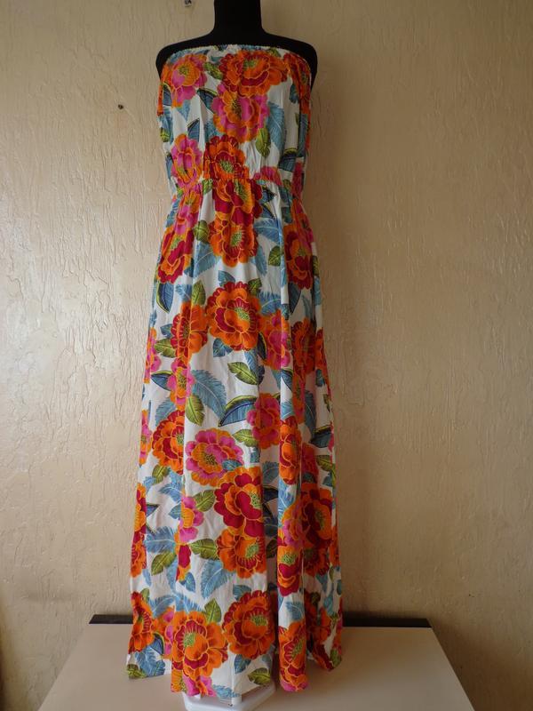795c1152f7c049 Літнє плаття, сарафан new look, віскоза, розмір 16 (44) New Look ...