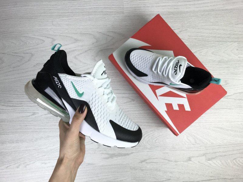 8795a6d1 Женские кроссовки белые с мятой nike air max 270 Nike, цена - 1050 ...