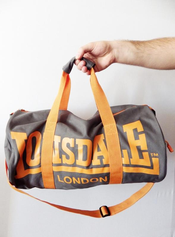 eecdc2c5c056 Спортивная сумка lonsdale sports gear barrel bag оригинал Lonsdale ...