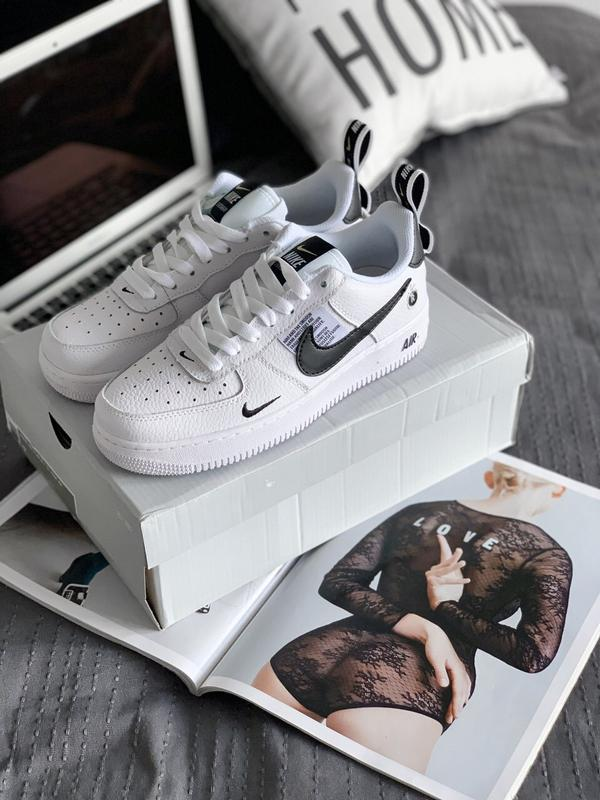a176e004 Шикарные кроссовки nike air force 1 low '07 lv8 utility-white1 фото ...