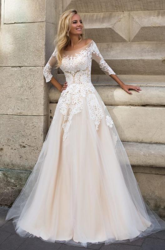 3baeb7af132941 Весільна сукня althea Оксана Муха, цена - 6700 грн, #21352968 ...
