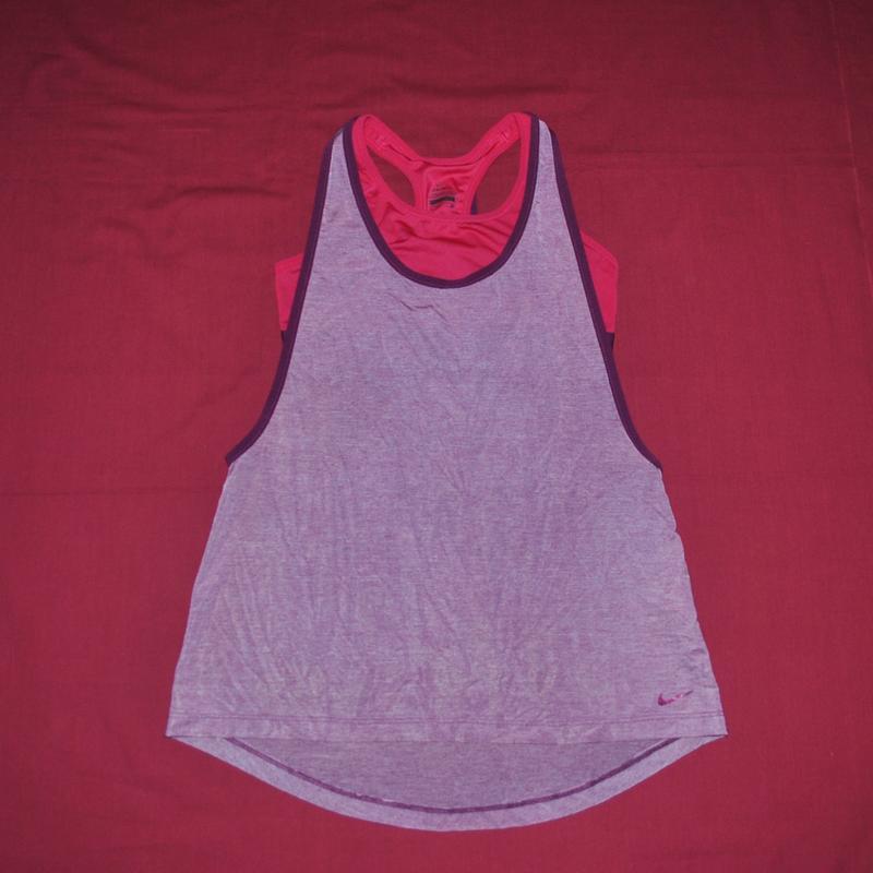 d09fdf504631d Топ майка nike спорт бег фитнес зал trx атлетик йог пилатес pro1 фото ...