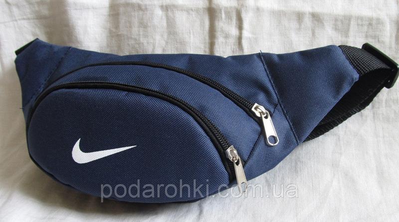 5cddab9145a2 Сумка бананка на пояс синяя поясная мужская женская барсетка через плечо1  фото ...