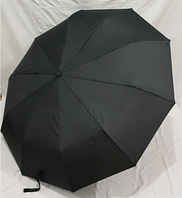 Зонт складной мужской в 3 сложения черный s.l. венгрия, цена - 250 грн, #21632555, купить по доступной цене | Украина - Шафа