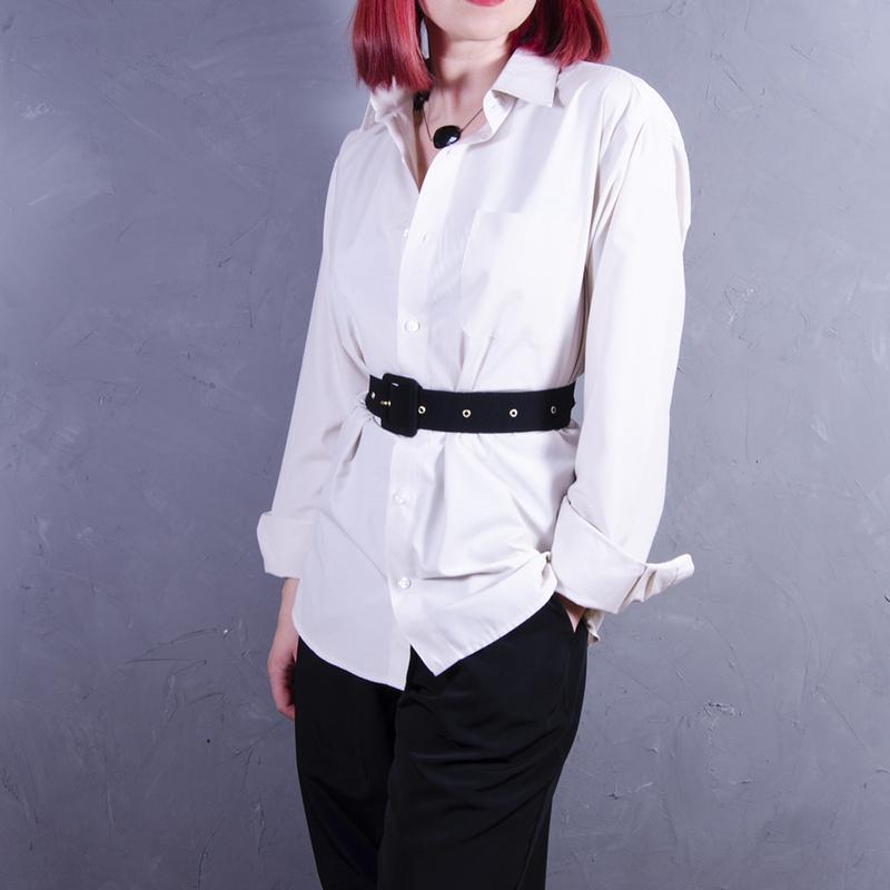 be9eec6fb17fe1a Классическая светло-бежевая рубашка, объемная рубашка marlon Англия ...
