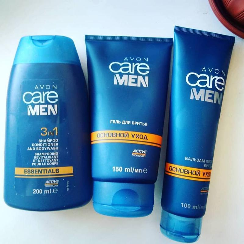 мужской набор для бритья эйвон