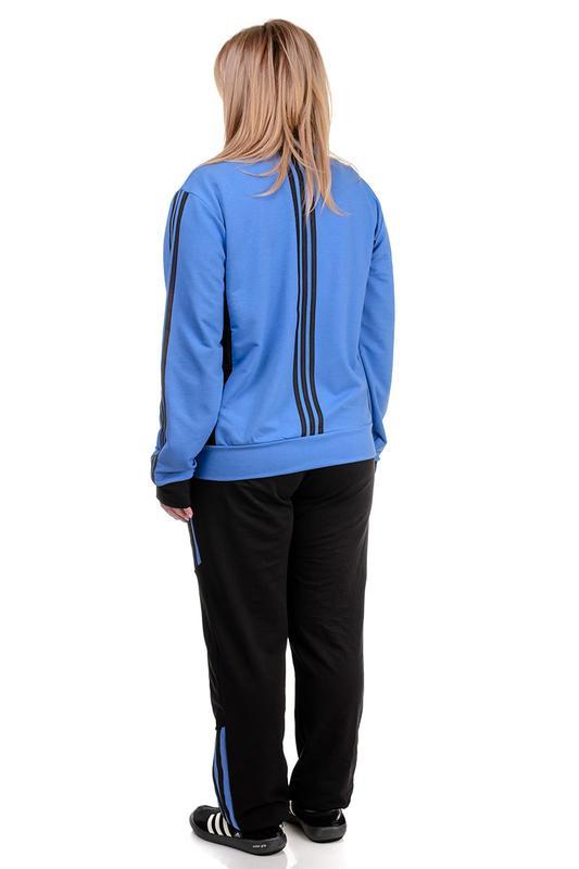 7eed2859 ... Качественный трикотажный женский спортивный костюм , демисезонный2 фото  ...