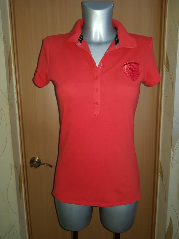 874b16e1eef6 Красная футболка поло puma ferrari оригинал (Puma Ferrari) за 150 грн.    Шафа