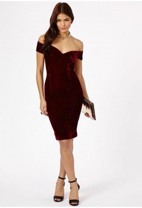 d65fb6c8f71 Шикарное бархатное платье missguided Missguided
