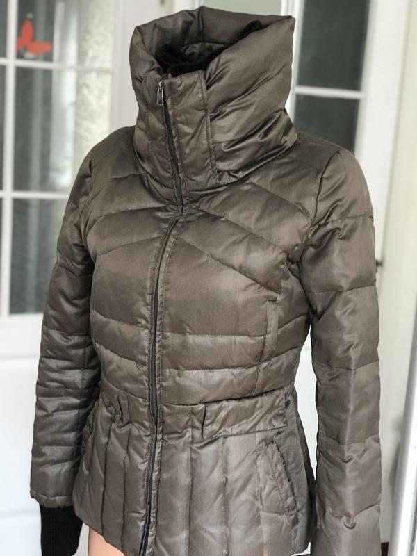 c461ce381101f0 Стильная куртка на зиму мех перо короткая mango Mango, цена - 850 ...