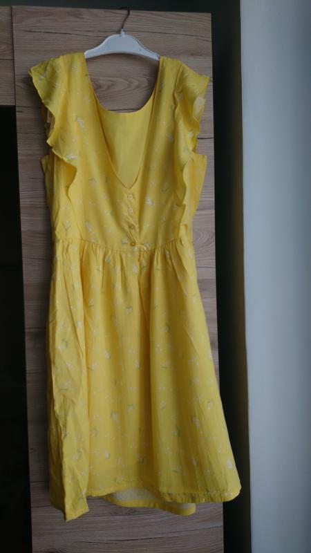 e9adf2c33a4 Яркое жёлтое платье kiabi ❤ Kiabi