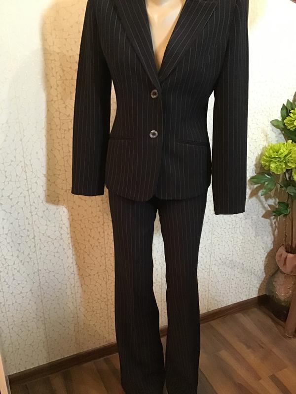 7d1b619f090f Офисный костюм в полоску деловой стиль, цена - 185 грн, #22283762 ...