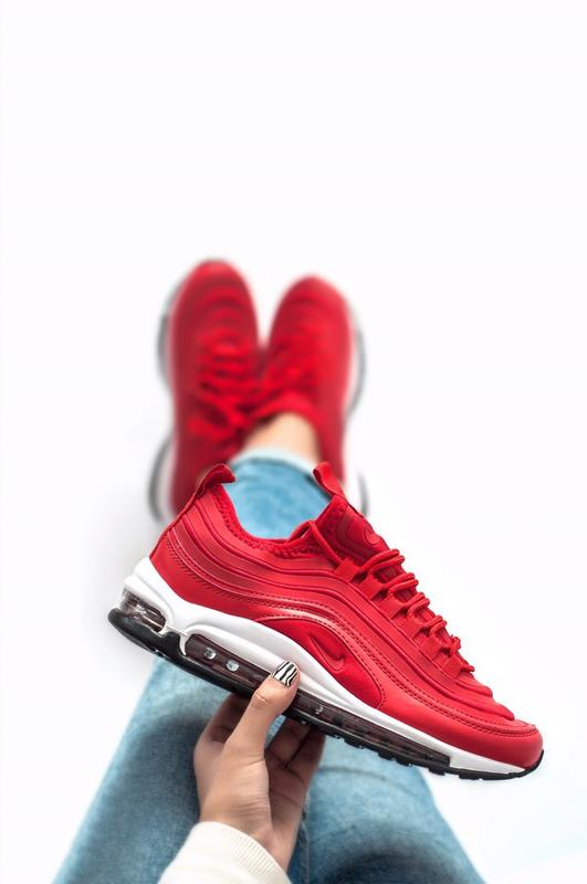 2052cf16 Шикарные женские кроссовки nike air max 97 red Nike, цена - 1550 грн ...