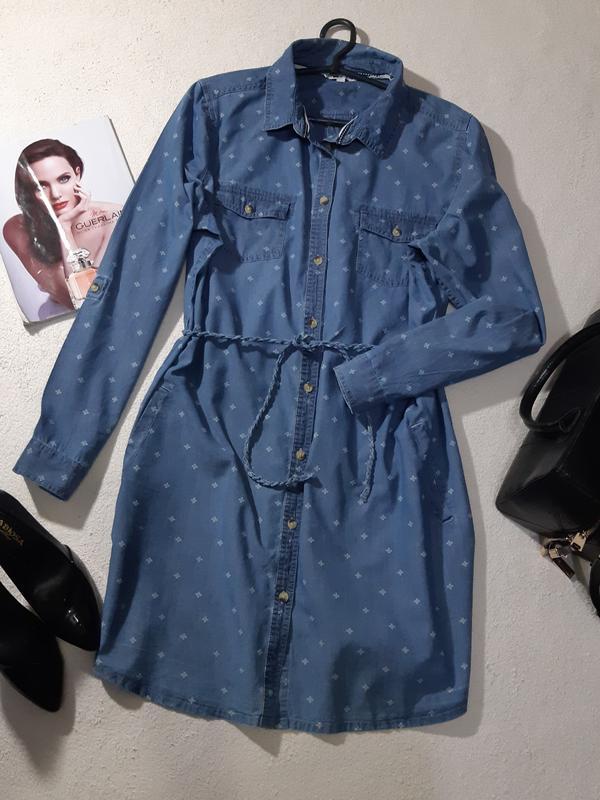 9cc3ac7e1f4ecc5 Стильно-джинсовое , платье рубашка. размер 3xl Fat Face, цена - 190 ...
