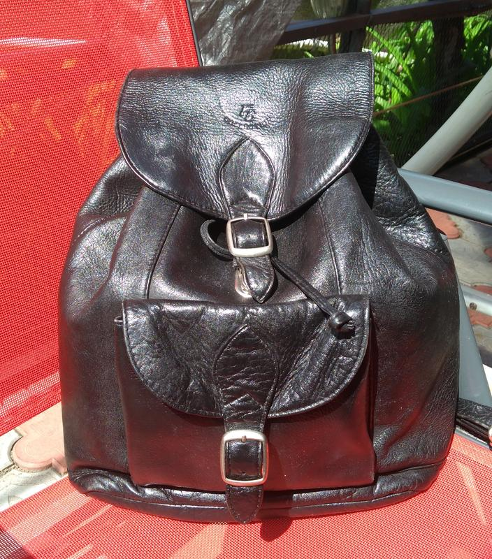 4260fa902b6e Рюкзак натуральная кожа черный 36*40, цена - 375 грн, #17405973 ...