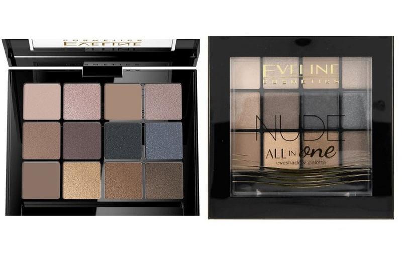 d28f82355 Тени для век eveline cosmetics all in one eyeshadow palette - 01 nude1 фото  ...