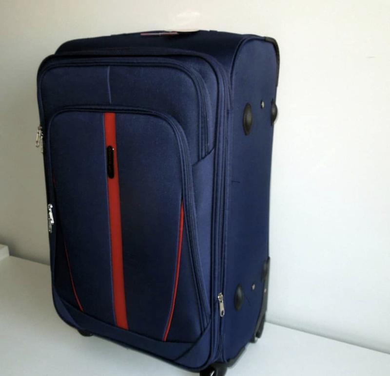 3d44291c0b16 Чемодан сумка валіза дорожная на колесах тканевый wings fly, цена ...