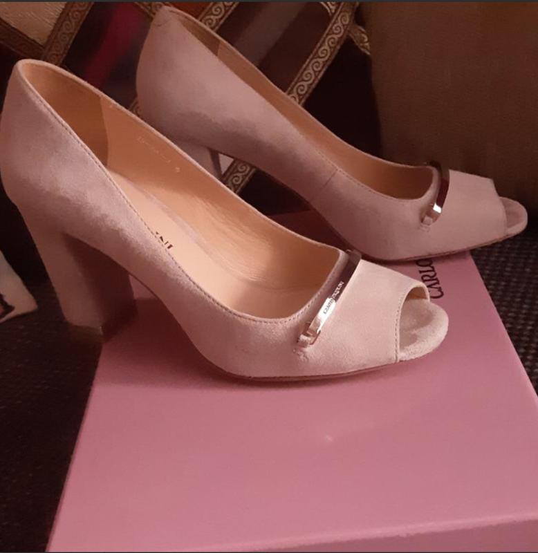 856aa5cb5 стильные туфли carlo pazolini, натуральная замша и кожа 🔥❤1 фото ...