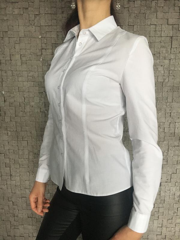 0d808d6da16b Белая классическая женская рубашка за 590 грн.