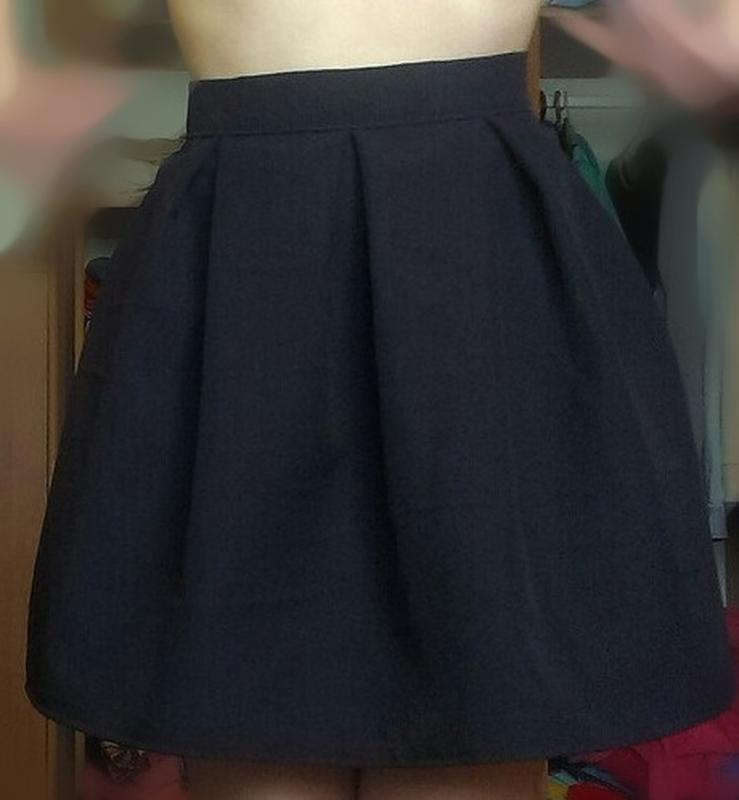 Фото юбки колокольчик школьной