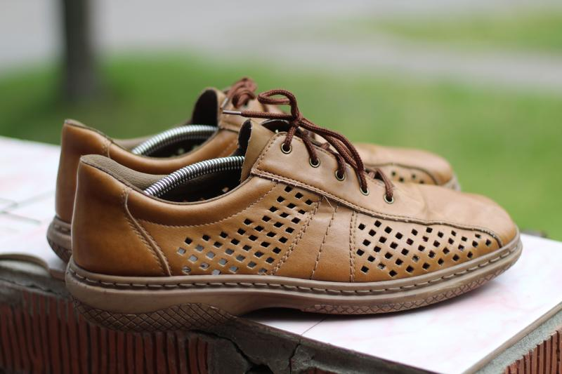 0f5b447b4 Невесомые летние мягкие кожаные туфли rieker 44-45 Rieker, цена ...