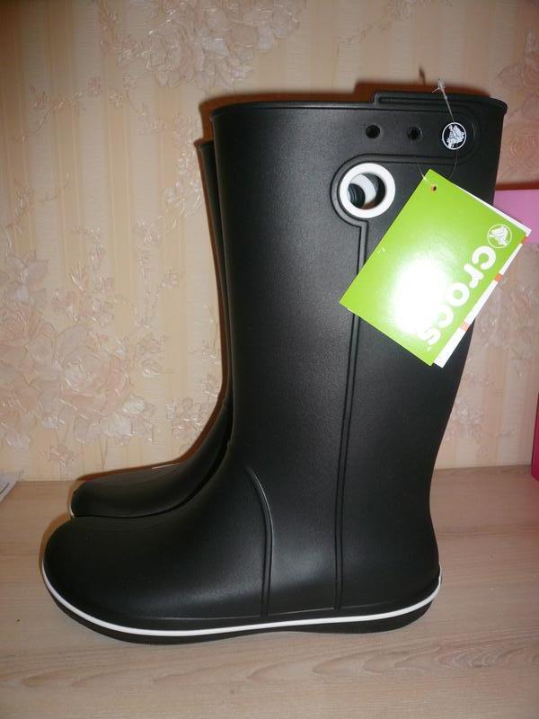 1d9863b6 Резиновые сапоги crocs crocband jaunt boot оригинал w10 р 40-41 стелька 271  фото ...