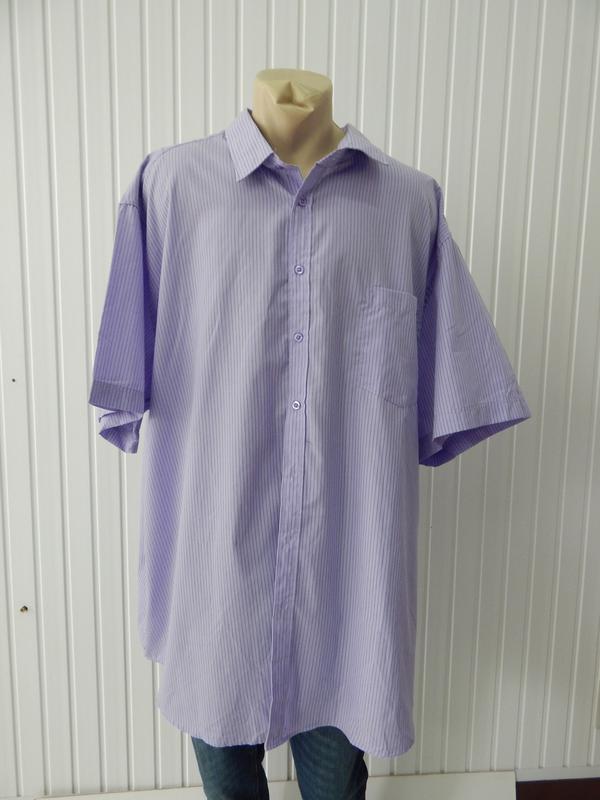 921ee4177e38cbd Мужская сиреневая тенниска-рубашка owk, цена - 270 грн, #23104296 ...