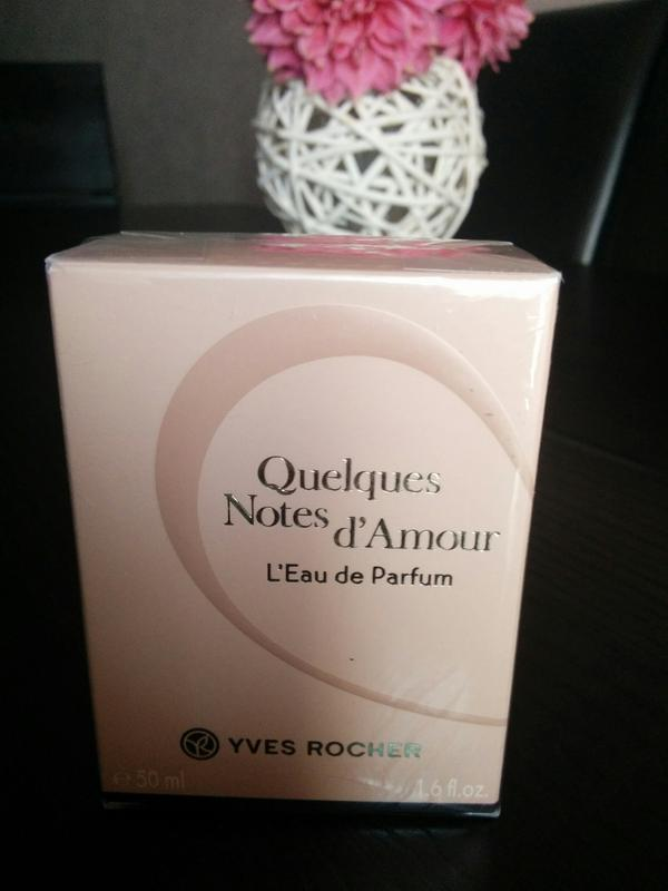 Ив Роше  Yves Rocher Туалетная вода Quelques Notes d