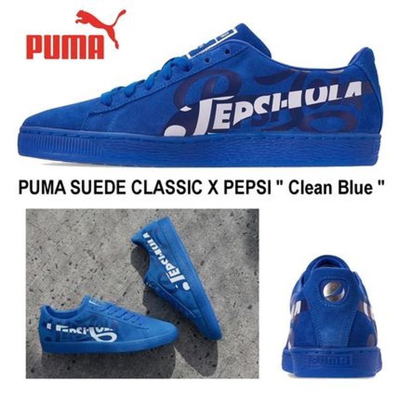 sports shoes 2ce80 3a4ea Эксклюзивные кроссовки puma suede classic x pepsi clean оригинал распродажа  (Puma) за 1100 грн.