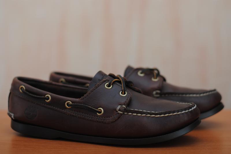 cbeff5f4c Мужские кожаные коричневые топсайдеры timberland, 40-41 размер. оригинал1  фото ...