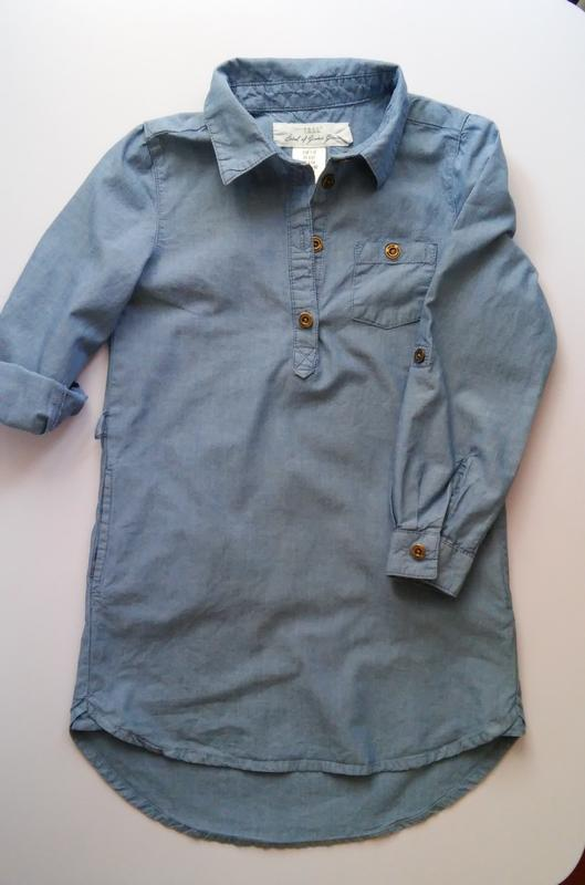 9a608b16d7eaa98 Платье-рубашка h&m, разм. 110 H&M, цена - 120 грн, #23363653, купить ...