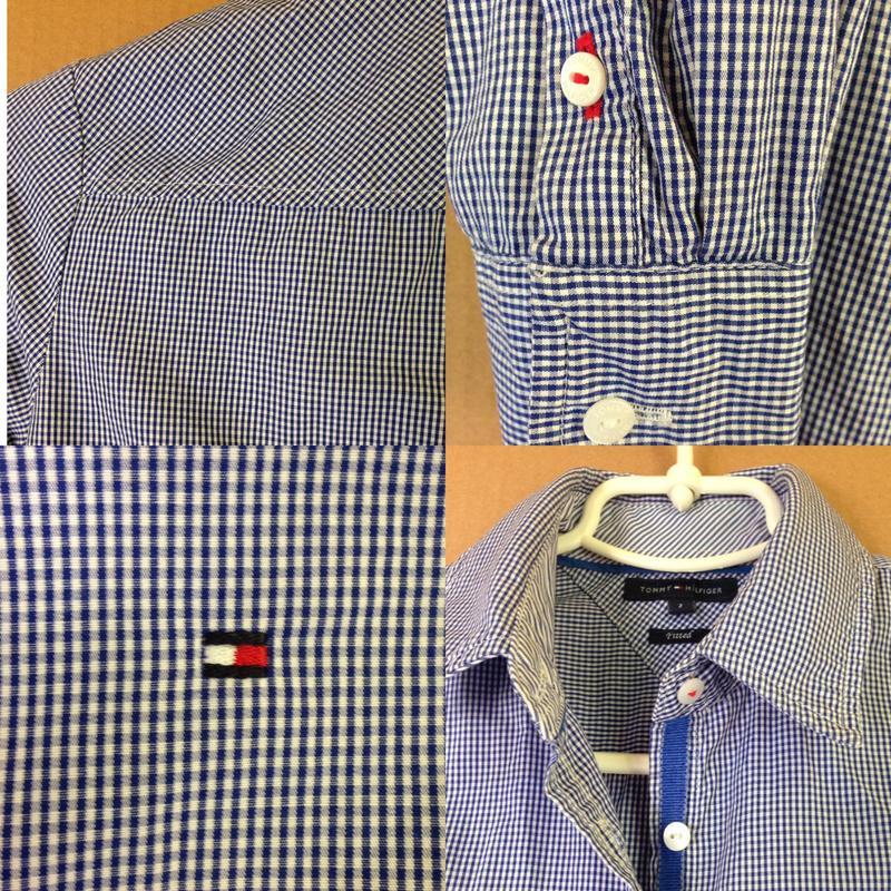 b33c9cedfa78 Женская рубашка tommy hilfiger в клетку клетчатая блузка классическая  (Tommy Hilfiger) за 599 ...