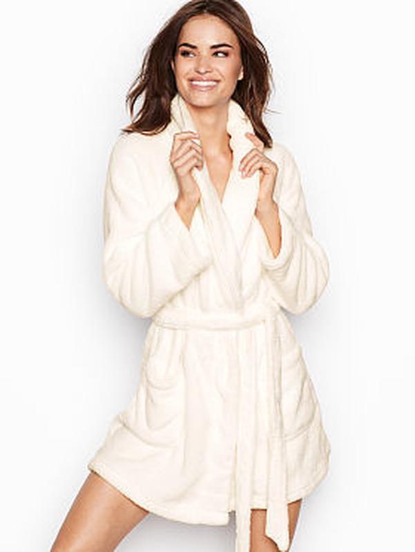 4a76d868348e8 Меховой, плюшевый халат victoria's secret xs/s Victoria's Secret ...