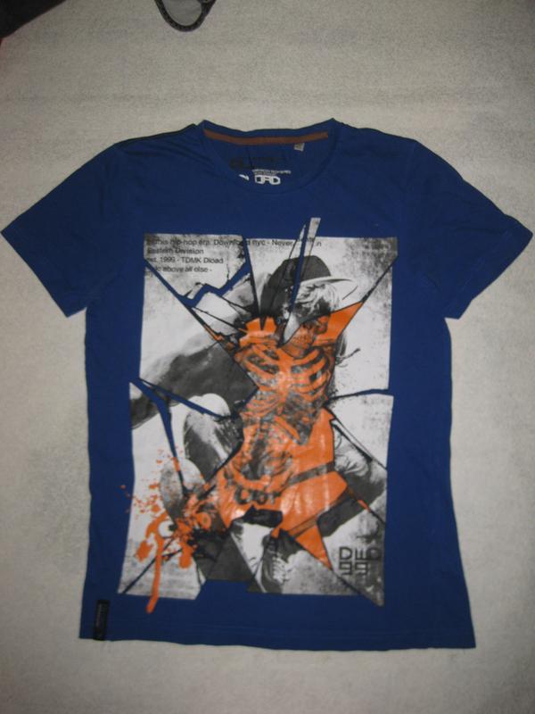 ed7bad0aa09fc 12-15 лет, хлопковая футболка с крутым принтом Here&There, цена - 95 ...
