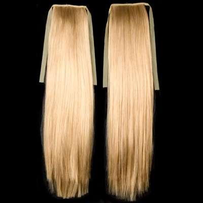 Купить хвост из натуральных волос в москве