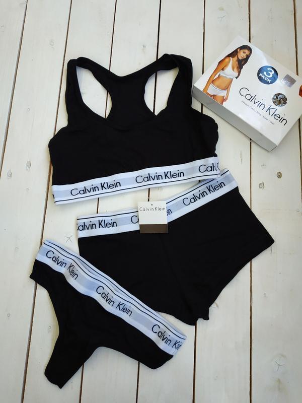 6685c94fe6b2 Спортивный комплект белья из трёх вещей calvin klein (Calvin Klein) за 240  грн. | Шафа