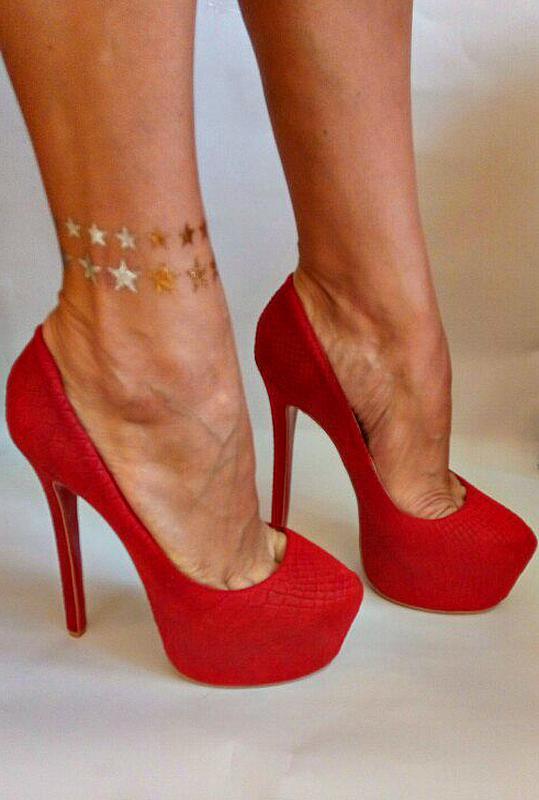 d4b99d9f2 Красивые,красные туфли на высоком каблуке City Walk, цена - 550 грн ...