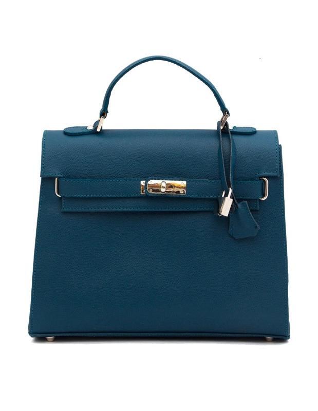 0a49874c1745 Carbotti италия оригинал кожаная сумка ручной работы 100% натуральная кожа  цвет морской волны1 фото ...