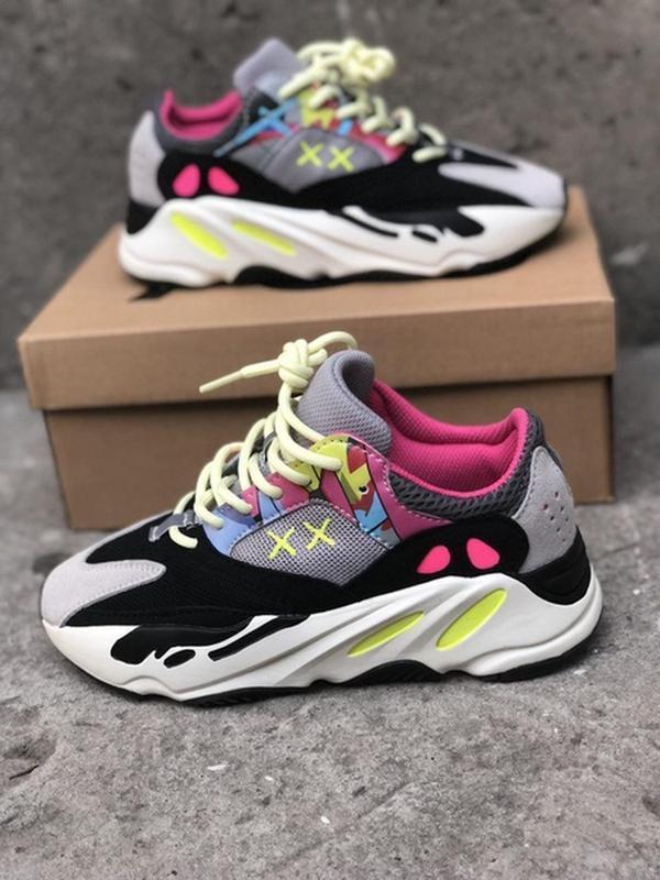 premium selection a124d 3e967 Разноцветные кроссовки унисекс adidas yeezy boost 700 wave runner pink  (Adidas) за 1450 грн. | Шафа